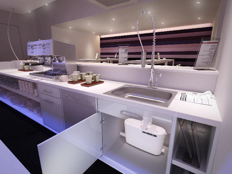 Przepompownia Rozdrabniacz Do Kuchni I łazienki Sfa Saniaccess 4
